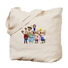 Family Portrait Tote Bag