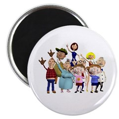 Family Portrait Magnet