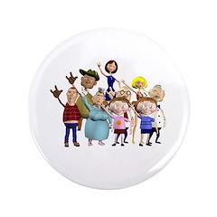 """Family Portrait 3.5"""" Button"""