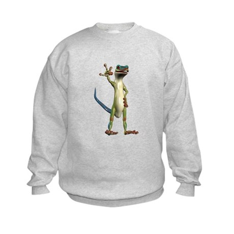 Mr. Gecko Kids Sweatshirt