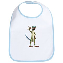 Mr. Gecko Bib