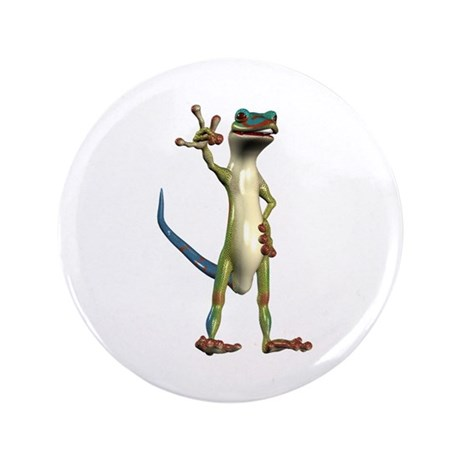"Mr. Gecko 3.5"" Button"