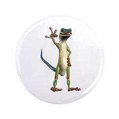 """Mr. Gecko 3.5"""" Button"""