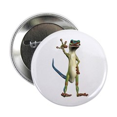 "Mr. Gecko 2.25"" Button"