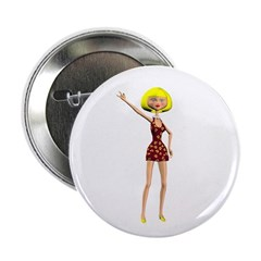 "Ginger 2.25"" Button"
