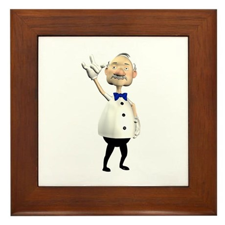Gramps Framed Tile