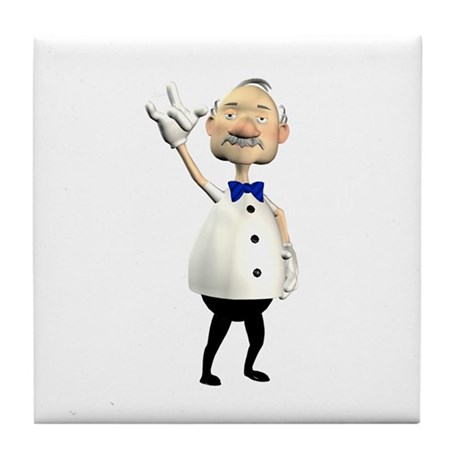 Gramps Tile Coaster
