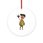 Mick Ornament (Round)