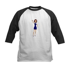 Minnie Kids Baseball Jersey