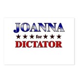 JOANNA for dictator Postcards (Package of 8)