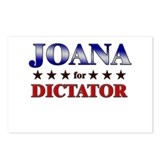 JOANA for dictator Postcards (Package of 8)