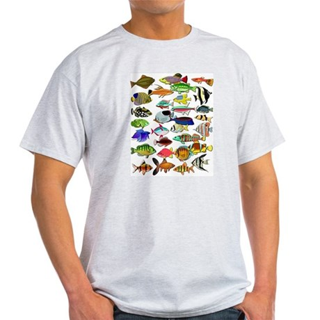 Tropical Fish ~ Light T-Shirt