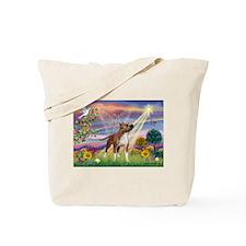 Cloud Angel & Amstaff Tote Bag