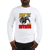 Flying Captain Obvious Long Sleeve T-Shirt