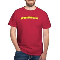 """Seinfeld """"Spongeworthy"""" Dark T-Shirt"""