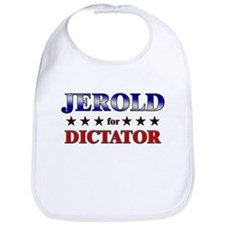 JEROLD for dictator Bib
