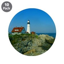 "Portland Head Light 3.5"" Button (10 pack)"