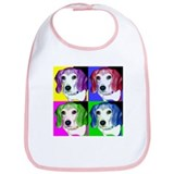 Pop Beagle Bib