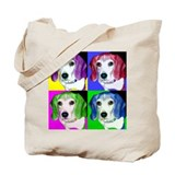 Pop Beagle Tote Bag
