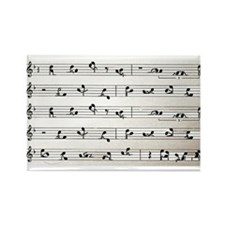 Kama Sutra Music Notes Rectangle Magnet (10 pack)