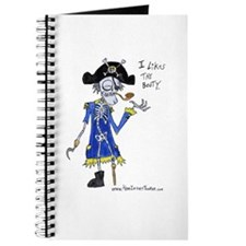 Booty Pirate Journal