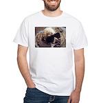 Mocha Cool White T-Shirt