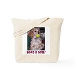 Mocha Have a Ball! Tote Bag