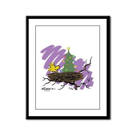 Festive Nest Framed Panel Print