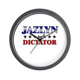 JAZLYN for dictator Wall Clock