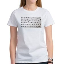 Kama Sutra Music Notes Tee