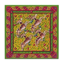 Celtic Reindeer Tile Coaster