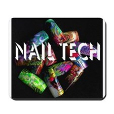 Funny Nail tech Mousepad
