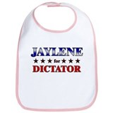 JAYLENE for dictator Bib