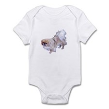 Pekingese Dog Infant Bodysuit