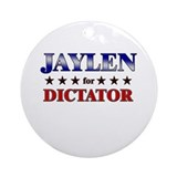 JAYLEN for dictator Ornament (Round)