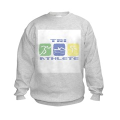 TRI ATHLETE Kids Sweatshirt