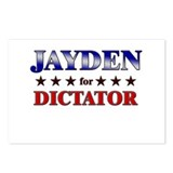 JAYDEN for dictator Postcards (Package of 8)