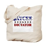 JAYCEE for dictator Tote Bag