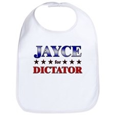 JAYCE for dictator Bib