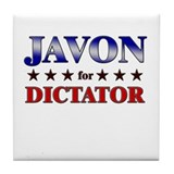 JAVON for dictator Tile Coaster