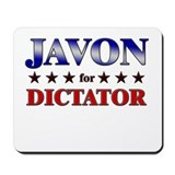 JAVON for dictator Mousepad