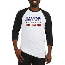 JAVON for dictator Baseball Jersey