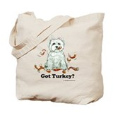 Westhighland Turkey Terrier Tote Bag