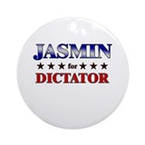 JASMIN for dictator Ornament (Round)