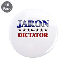 "JARON for dictator 3.5"" Button (10 pack)"