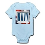 Navy Infant Creeper