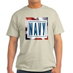 Navy Ash Grey T-Shirt