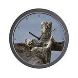 New Orleans Cemetery Angel Wall Clock