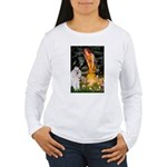 Fairies / Std Poodle(w) Women's Long Sleeve T-Shir