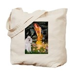 Fairies / Std Poodle(w) Tote Bag